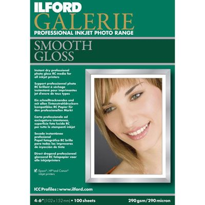 Ilford Galerie Prestige Smooth Gloss A4 25 Sheets 310gsm