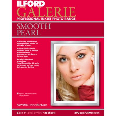 Ilford Galerie Prestige Smooth Pearl A2 25 Sheets 310gsm