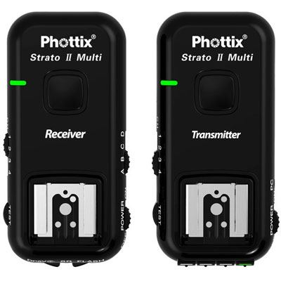 Phottix Strato II 5-in-1 Wireless Flash-Trigger - Nikon