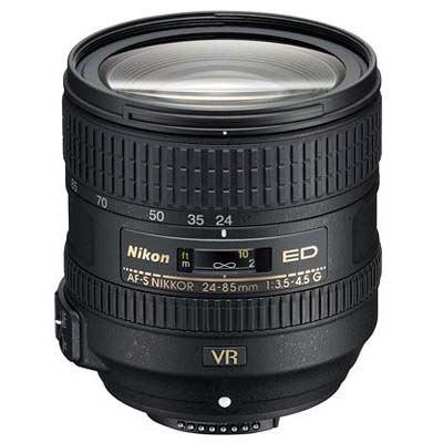 Nikon 24-85mm f3.5-4.5 AF-S G ED VR Lens