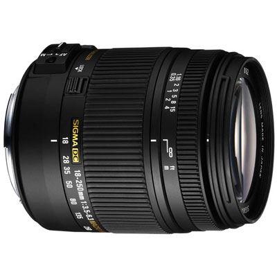 Sigma 18-250mm f/3.5-6.3 DC Macro HSM (Pentax fit)