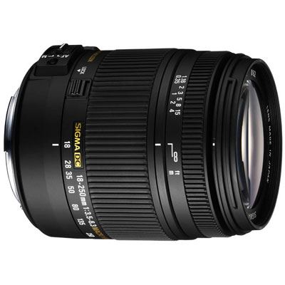 Sigma 18-250mm f/3.5-6.3 DC Macro HSM (Sony fit)