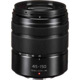 Panasonic 45-150mm f4.0-5.6 ASPH OIS Black Micro Four Thirds Lens