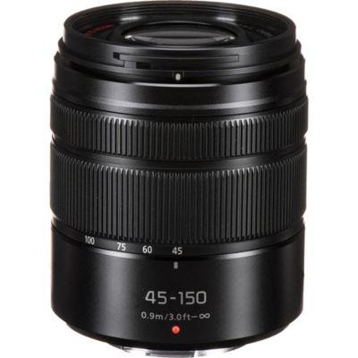 Panasonic 45-150mm f4.0-5.6 ASPH OIS Black Micro Four Thirds Lens