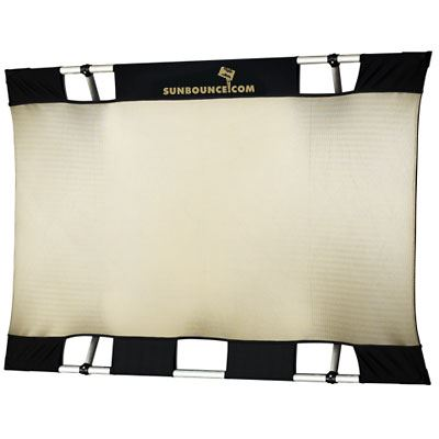 California Sunbounce Mini Kit – Zebra/White Screen