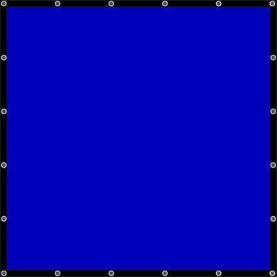 California Sunbounce Sun Scrim 6x6 Screen - Blue Box