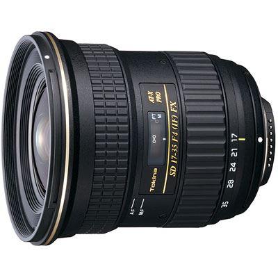 Tokina 1735mm f4 ATX PRO FX Lens  Canon Fit