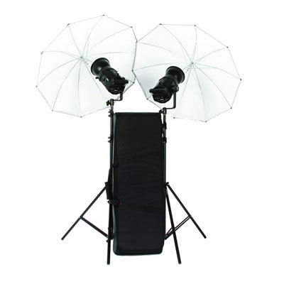 Bowens Gemini 400Rx Twin Head Umbrella Kit