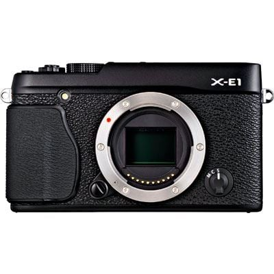 Fuji X-E1 Digital Camera Body - Black