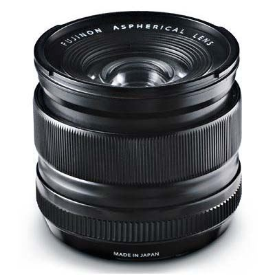 Fujifilm 14mm f2.8 R XF Fujinon Black Lens