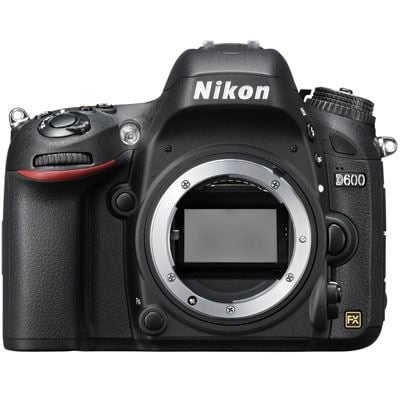 Nikon D600 Digital SLR Camera Body