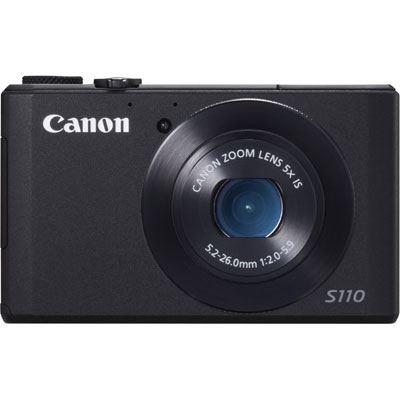 Canon PowerShot S110 Black Digital Camera