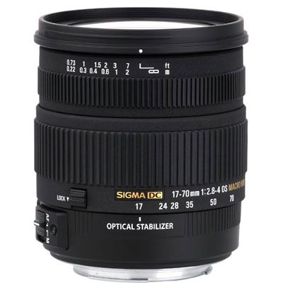 Sigma 17-70mm f2.8-4.0 DC Macro OS HSM Lens - Canon Fit
