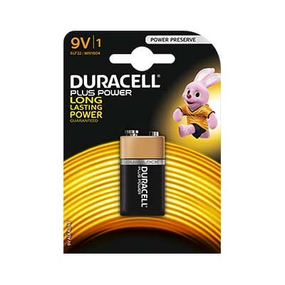 Image of Duracell MN1604 Plus 9V Battery