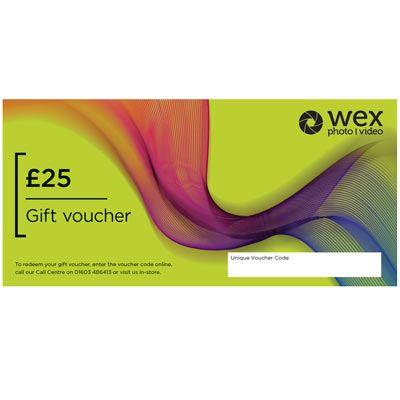 Wex Photo Video Gift Voucher - £25
