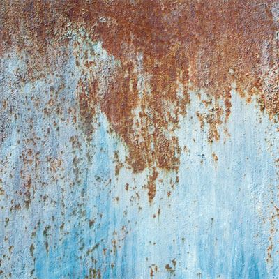 Lastolite Urban Collapsible Reversible Background 1.5 x 2.1m - Rusty Metal / Plaster Wall