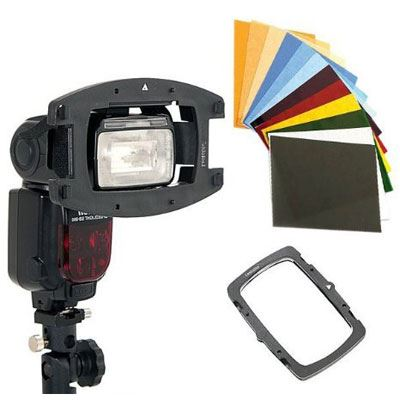 Lastolite Strobo Gel Starter Kit - Direct to Flashgun
