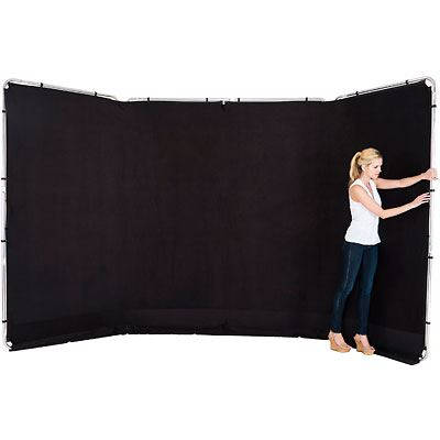 Lastolite Panoramic Background 4m - Black