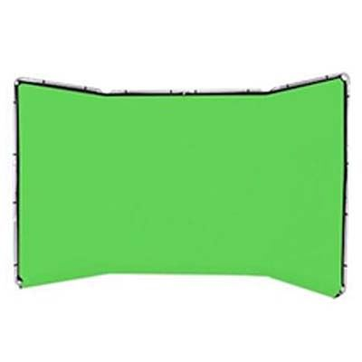 Lastolite Panoramic Background 4m - Chromakey Green