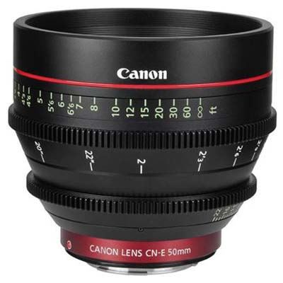 Image of Canon CN-E 50mm T1.3 L F Cine Lens