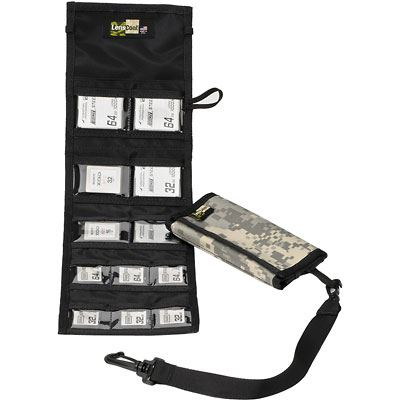 Image of LensCoat Combo 66 Memory Card Wallet - Digital Camo