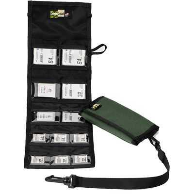 Image of LensCoat Combo 66 Memory Card Wallet - Green