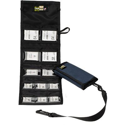 Image of LensCoat Combo 66 Memory Card Wallet - Navy