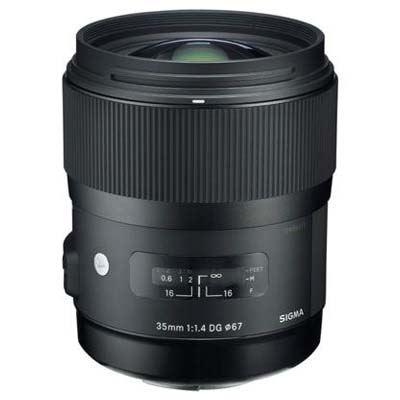Sigma 35mm f1.4 DG HSM Art Lens - Canon Fit