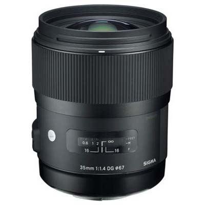 Sigma 35mm f1.4 DG HSM Art Lens – Nikon Fit