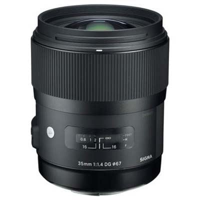 Sigma 35mm f1.4 DG HSM Art Lens - Nikon Fit