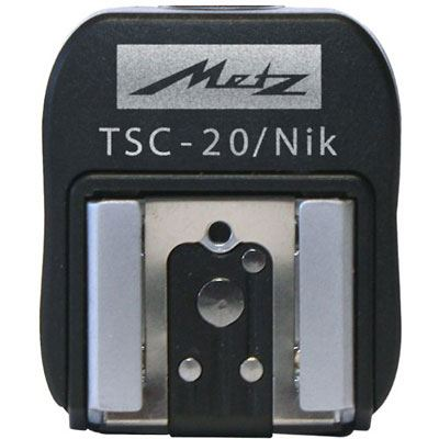 Metz TSC-20 Hotshoe Sync Adapter - Nikon Fit