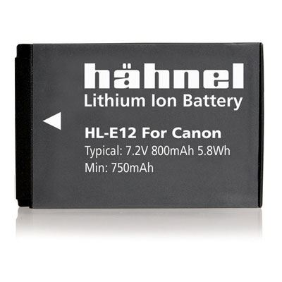 Hahnel HL-E12 Battery (Canon LP-E12)