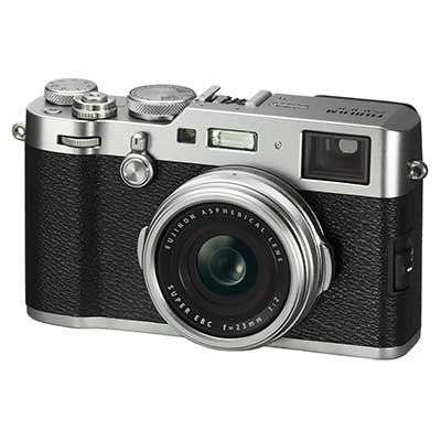 Fuji FinePix X100S Digital Camera - Silver