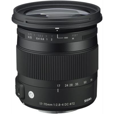 Sigma 17-70mm f2.8-4 DC Macro OS HSM Lens – Canon Fit