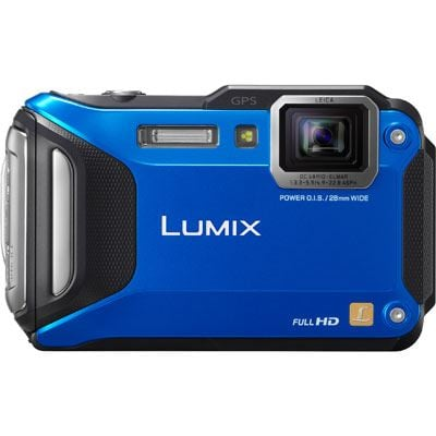 Panasonic LUMIX DMCFT5 Digital Camera  Blue
