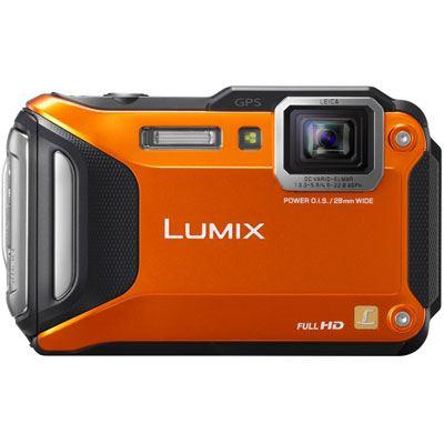 Panasonic LUMIX DMCFT5 Digital Camera  Orange