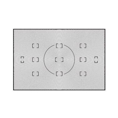 Nikon B Type Focusing Screen for D3
