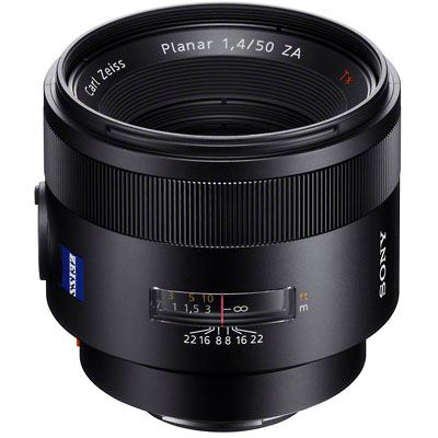 Used Sony 50mm f1.4 ZA SSM Zeiss Planar Lens