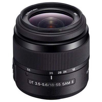 Sony A Mount 18-55mm f3.5-5.6 SAM DT II Lens