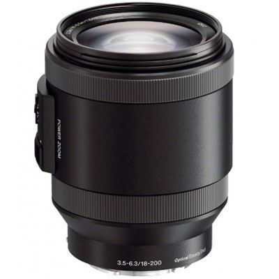 Sony E 18-200mm f3.5-6.3 OSS Power Zoom Lens