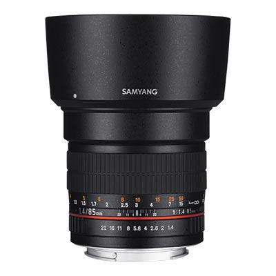 Samyang 85mm f1.4 IF MC Lens  Canon Fit