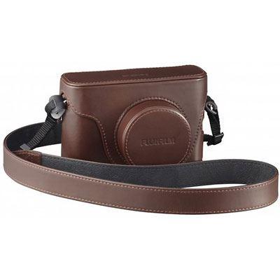 Used Fuji LC-X100S Premium Leather Case - Brown