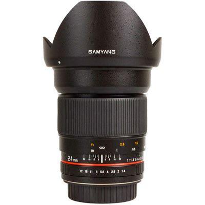 Samyang 24mm f1.4 ED AS IF UMC Lens – Pentax Fit