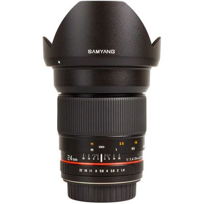 Image of Samyang 24mm f1.4 ED AS IF UMC Lens - Samsung NX Fit