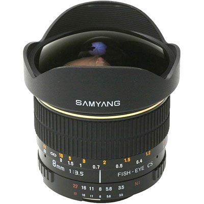 Image of Samyang 8mm f3.5 Aspherical IF MC Fisheye CS Lens - Sony Fit