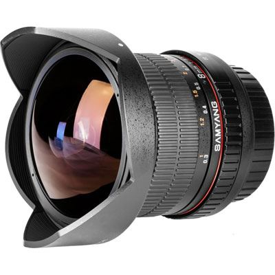 Samyang 8mm f3.5 Aspherical IF MC Fisheye CS II Lens  Pentax Fit