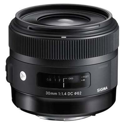 Used Sigma 30mm f1.4 DC HSM A Lens - Nikon Fit