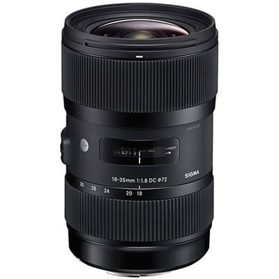 Sigma 18-35mm f1.8 DC HSM Art Lens - Nikon Fit