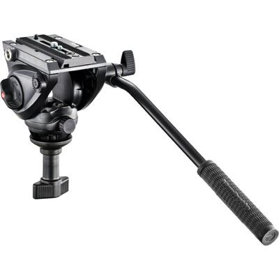 Image of Manfrotto MVH500 Pro Fluid Video Head with 60mm Half Ball