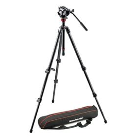 Used Manfrotto 500 Carbon Fibre MDeVe Video System